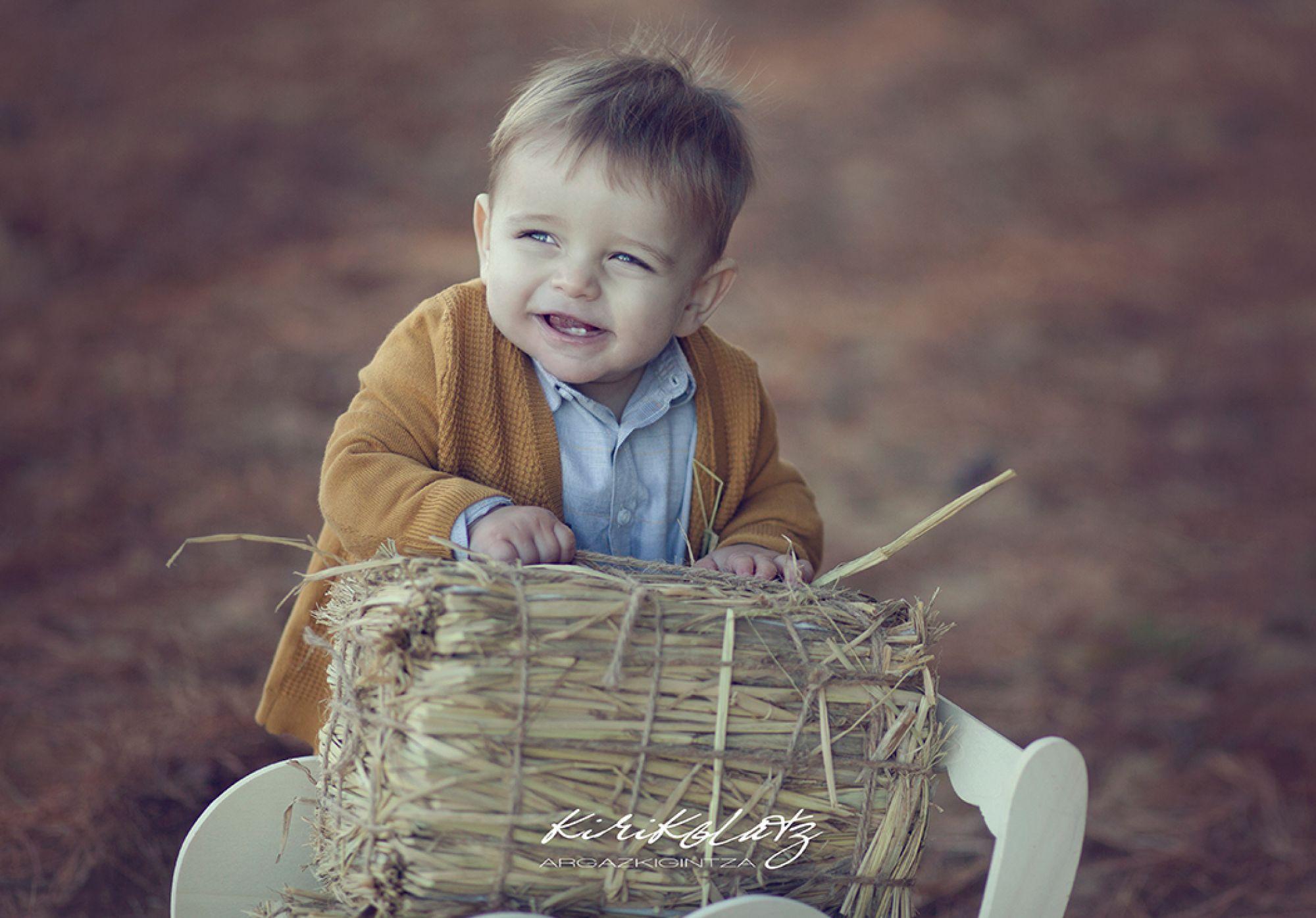 Bebe Fotografa Bermeo Bizkaia Ohian