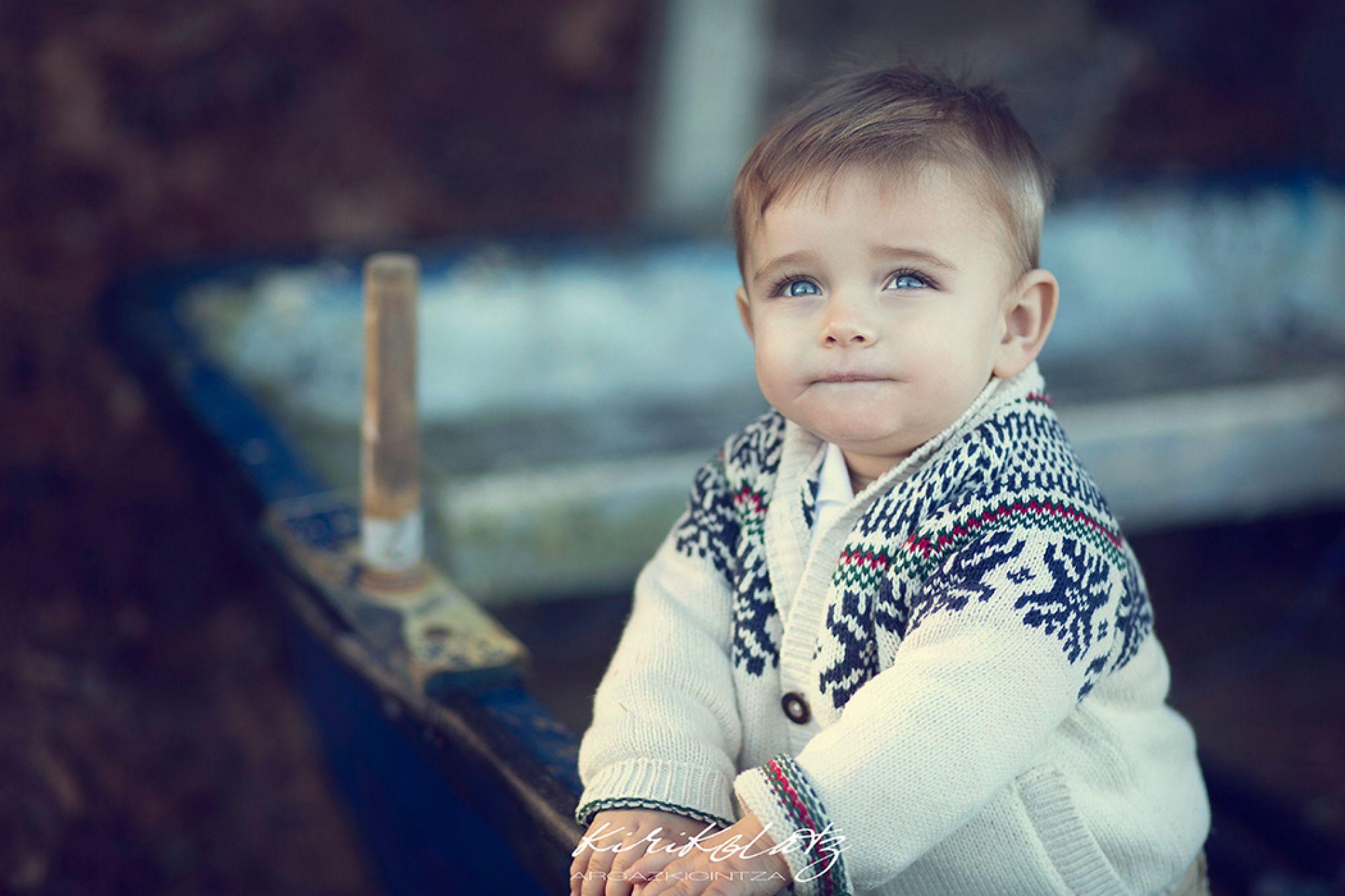 Bebe Fotografa Urdaibai Ohian
