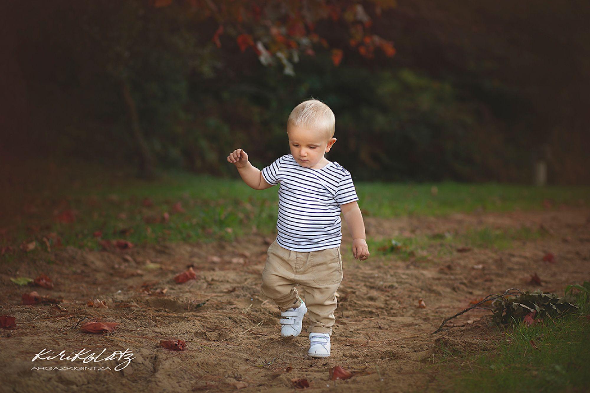 Fotos de bebé en Urdaibai, Unax