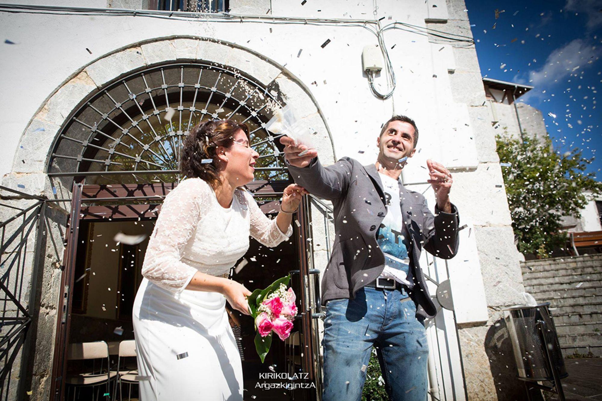 Álbum fotos bodas Bermeo