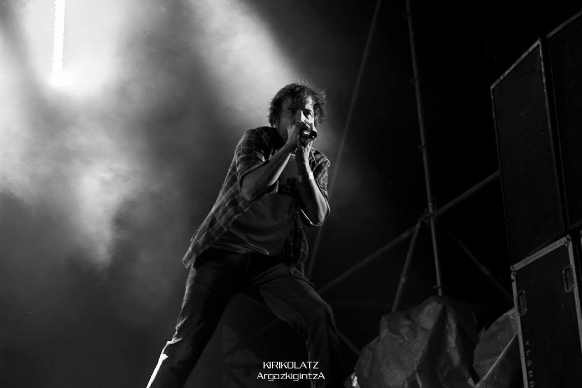 Fotógrafa profesional de conciertos