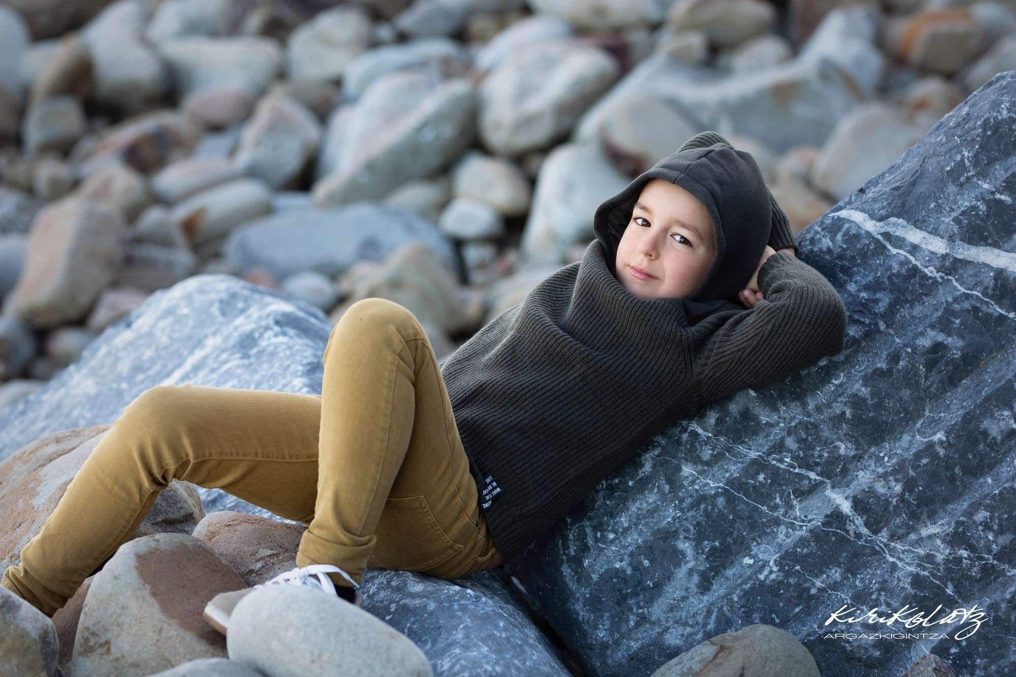 Famia Reportajes Fotos Niños Otoño Bermeo
