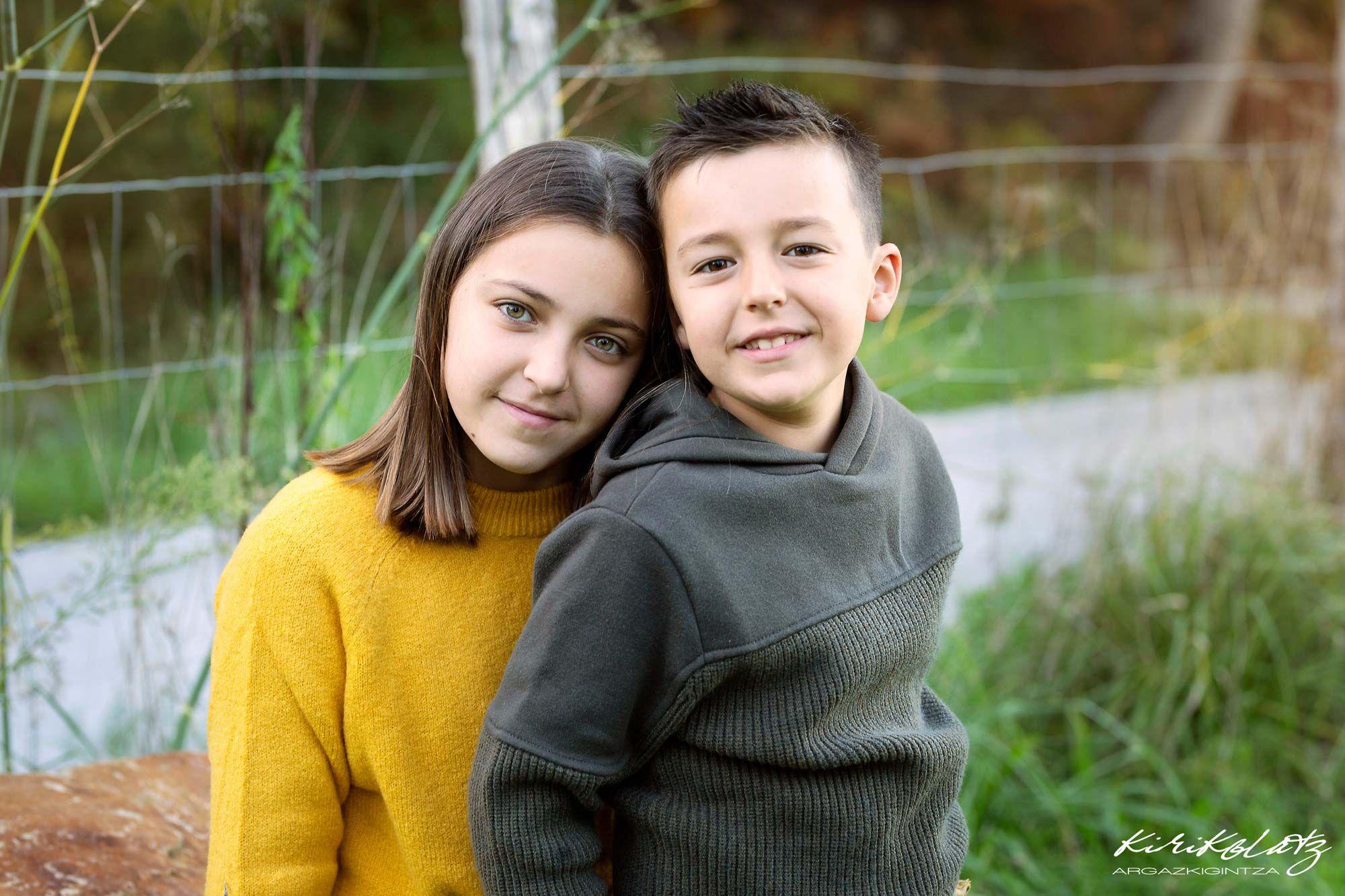 Familias Otoño Fotos Kirikolatz Fotógrafa