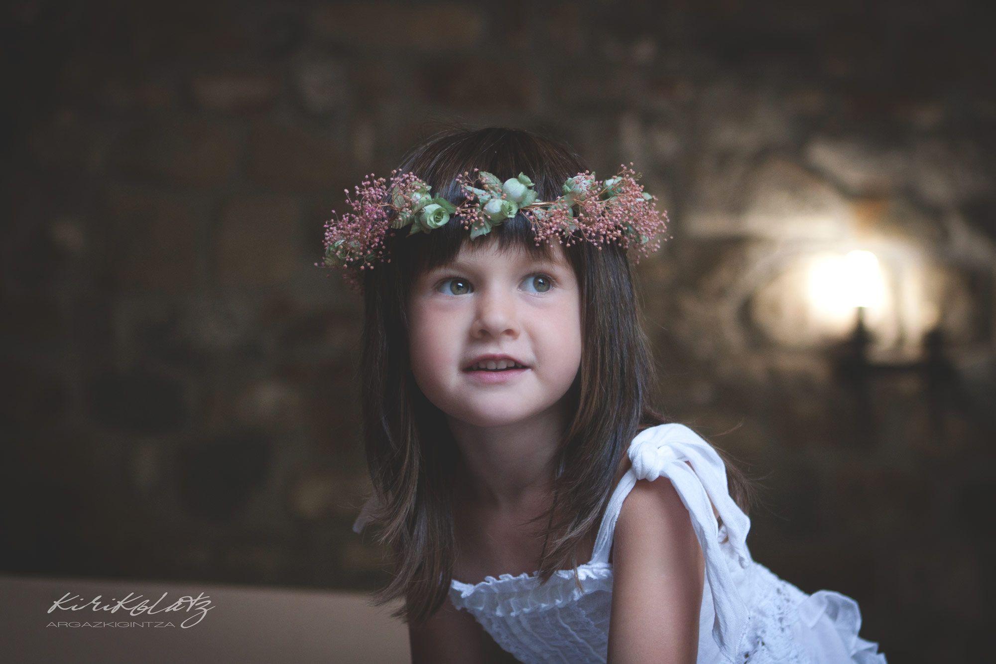 Fotografa Infantil Bizkaia Kirikolatz
