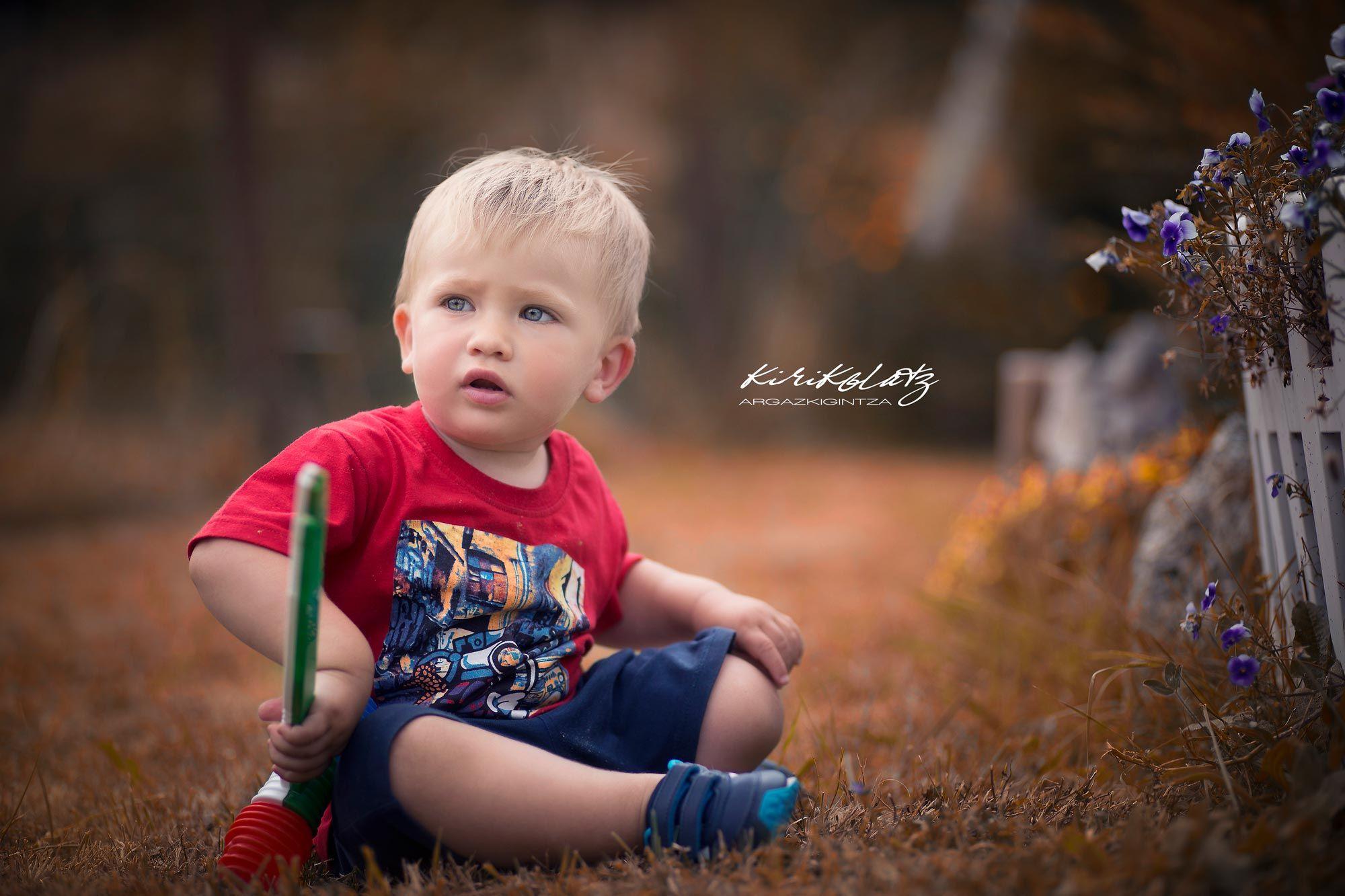 Fotografa Infantil Ninos Kirikolatz Bermeo