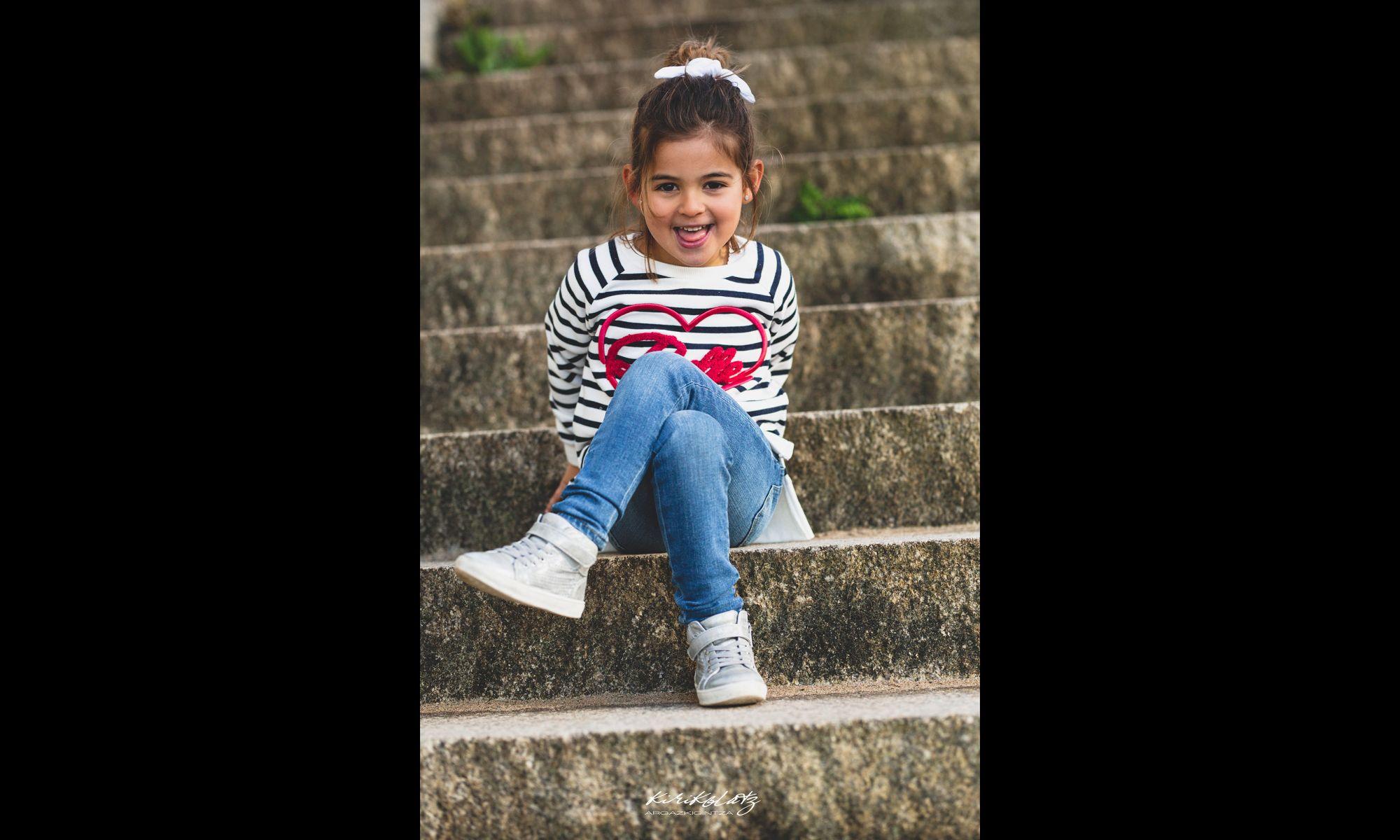 Fotografia Infantil Bizkaia Sesiones Familias Fotografa Kirikolatz