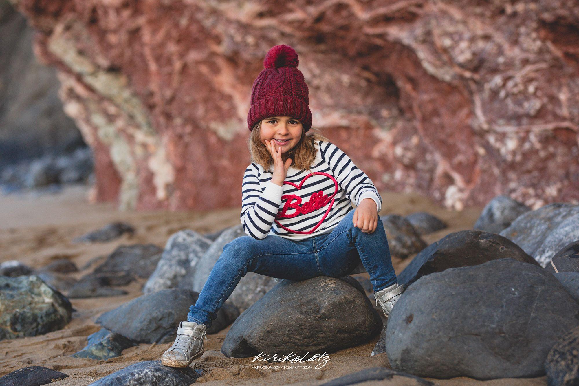 Fotografia Infantil Sesiones Familias Bizkaia Bakio
