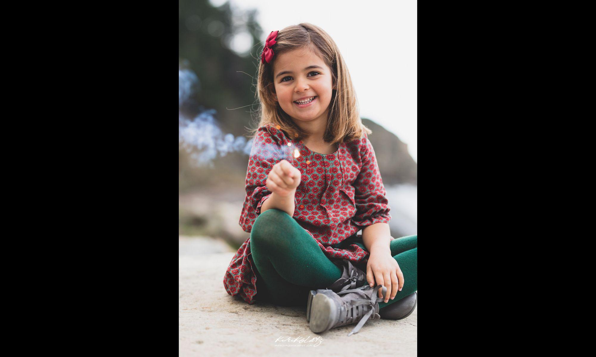Fotografia Infantil Sesiones Fotos Bizkaia Kirikolatz Fotografa