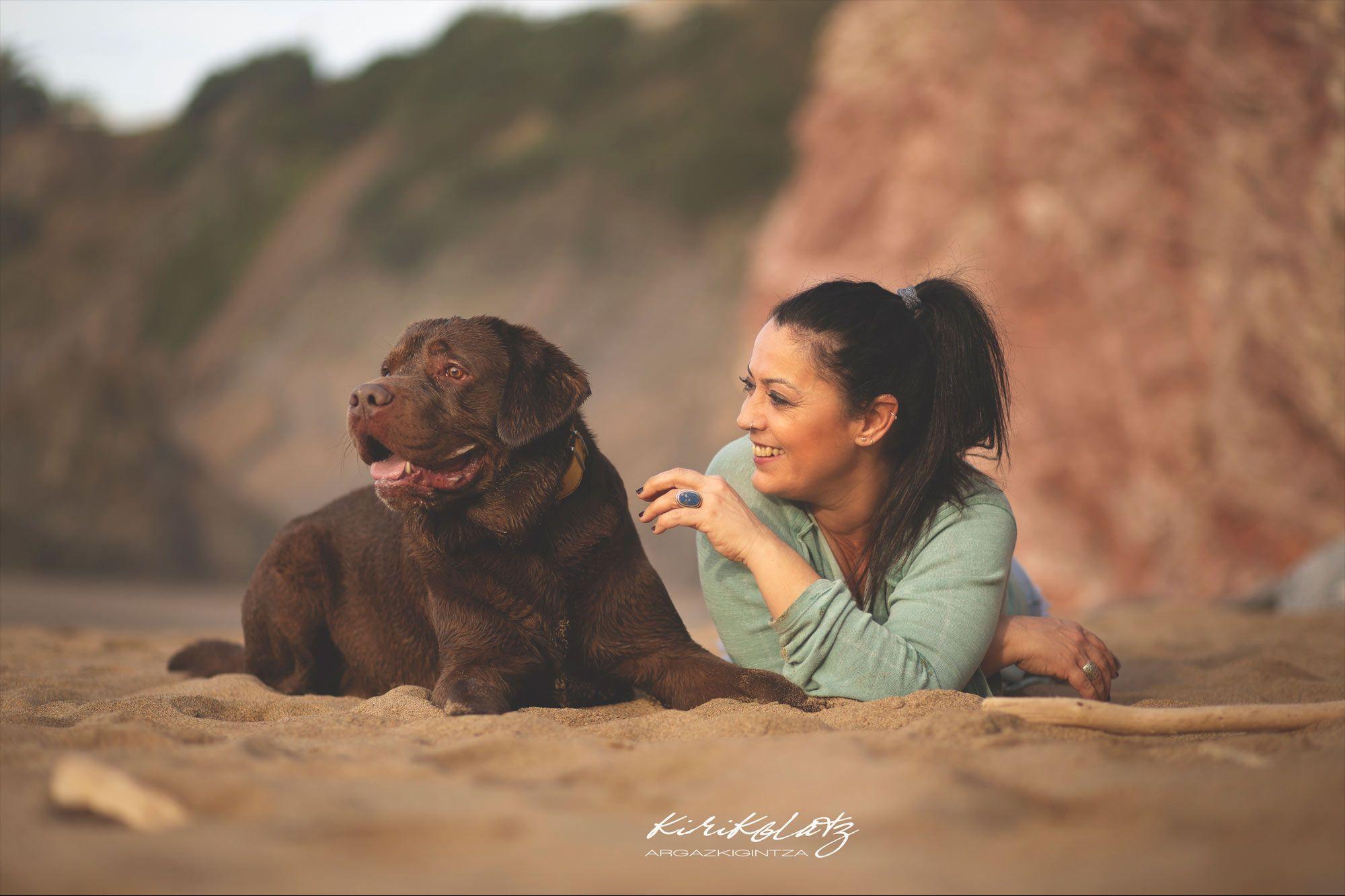 Fotografia Mascotas Playa Bakio