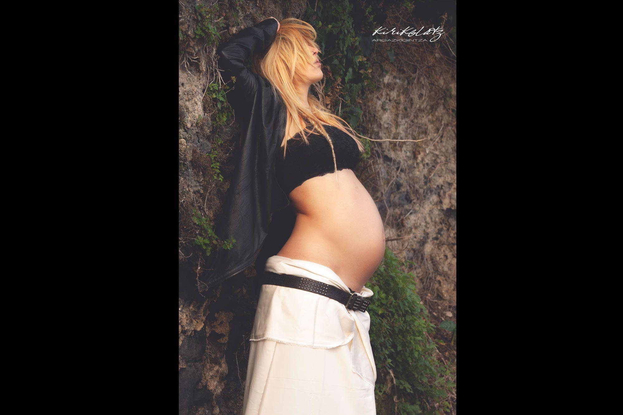 Fotografias Embarazo Exterior Mundaka
