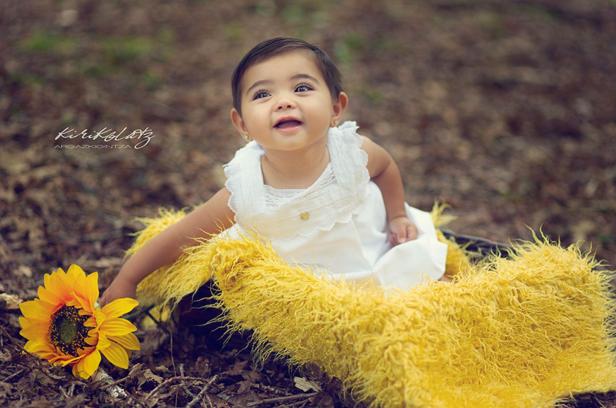 Fotos de bebé en exteriores, Malen