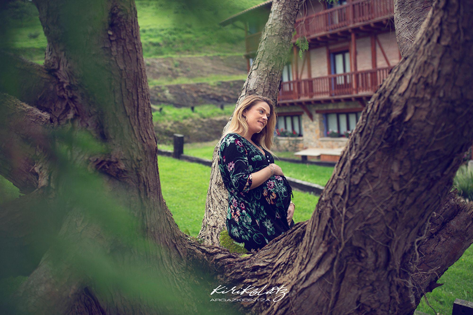 Fotos de embarazo en Bizkaia