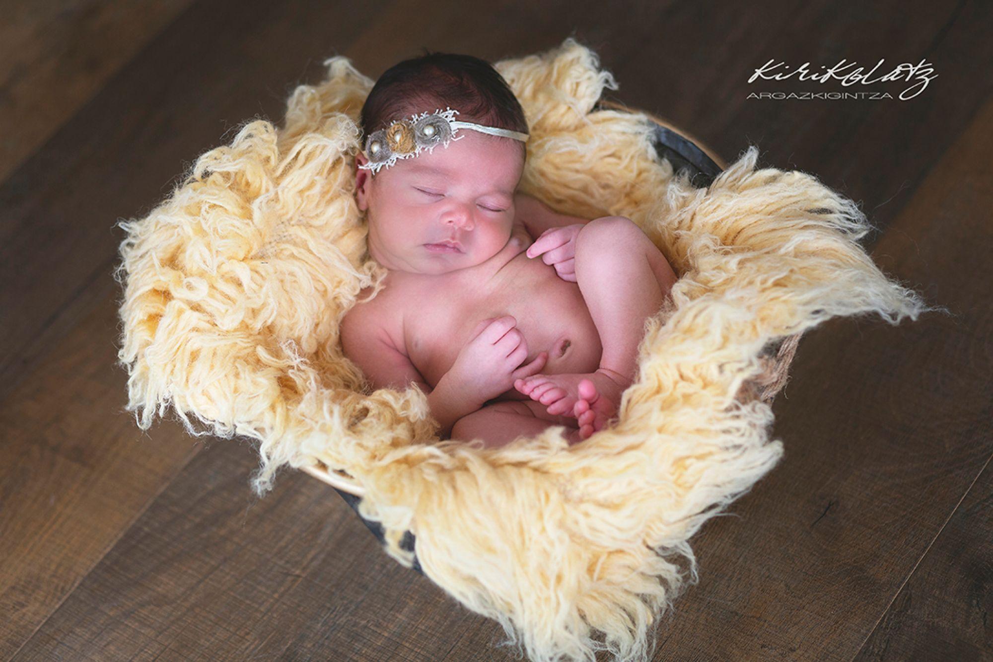 Recién nacido sesión fotos