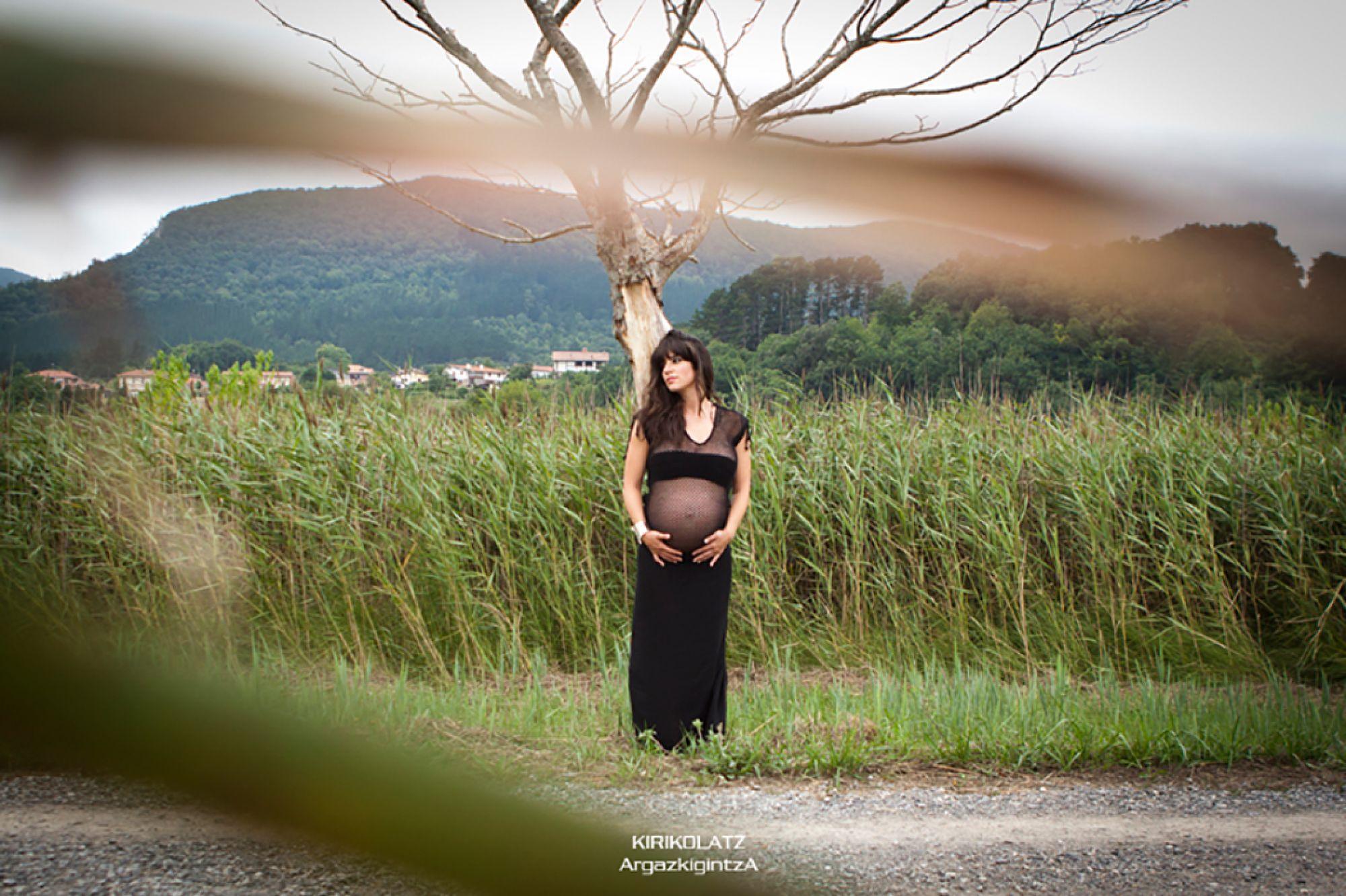 Reportaje fotos embarazo
