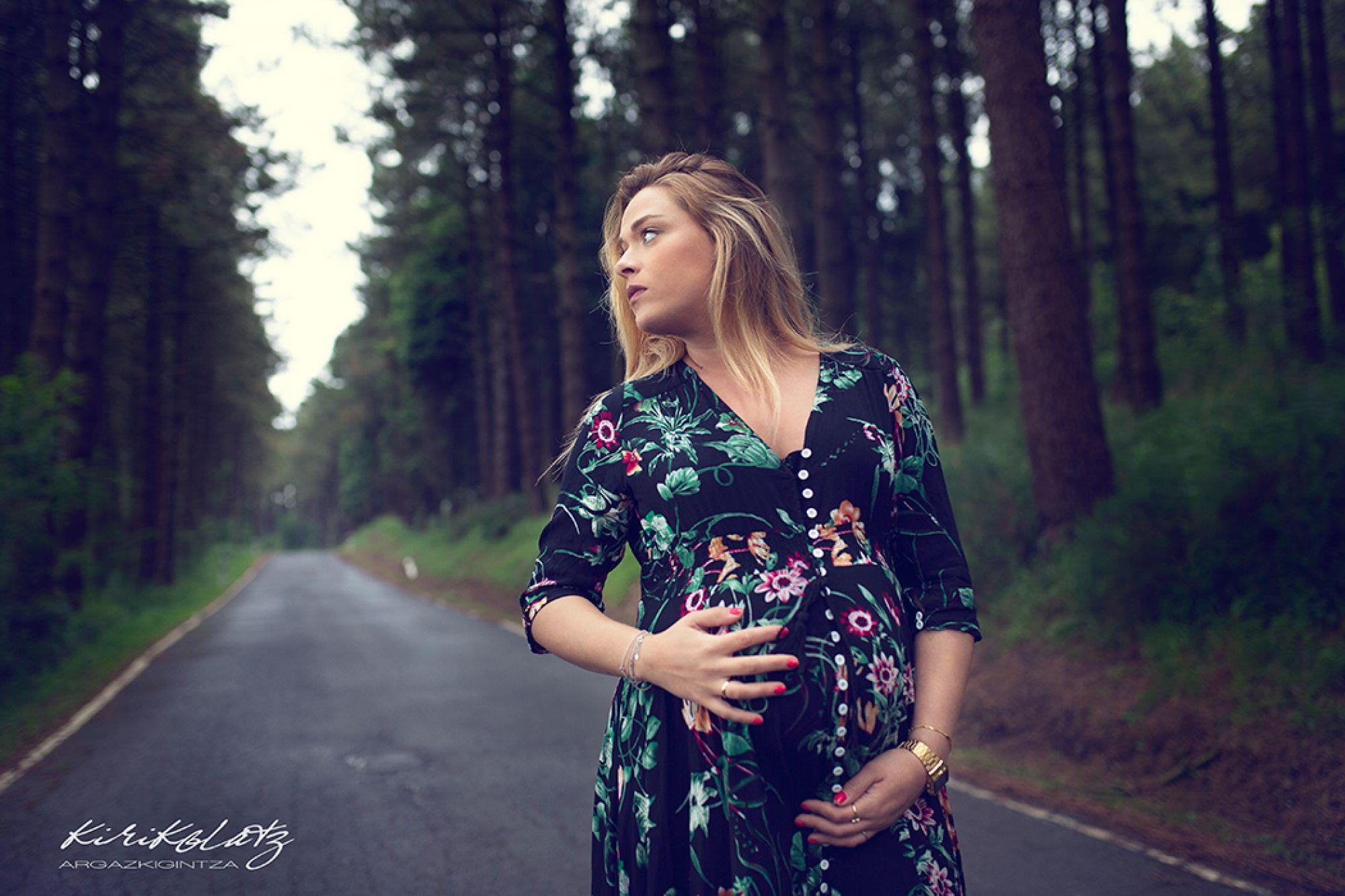 Sesión fotos embarazo Bermeo